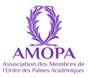 logo AMOPA Palmes Académiques Thierry bénétoux Snooopi