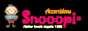 Accordéons pour enfants Snooopi, fabriqués en France par Thierry Bénétoux, artisan et technicien accordéoniste passionné par l'innovation musicale