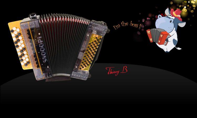 Snooopi Boss accordéon pour enfant par Thierry B