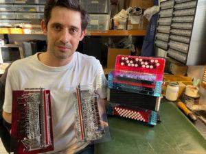 Yoann Responsable Mécanique de l'accordéon Snooopi